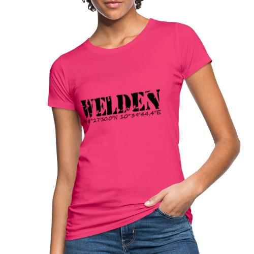WELDEN_NE - Frauen Bio-T-Shirt