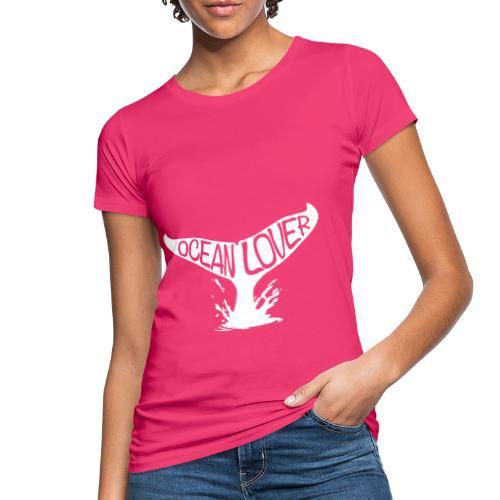 The Whale - La Baleine - T-shirt bio Femme