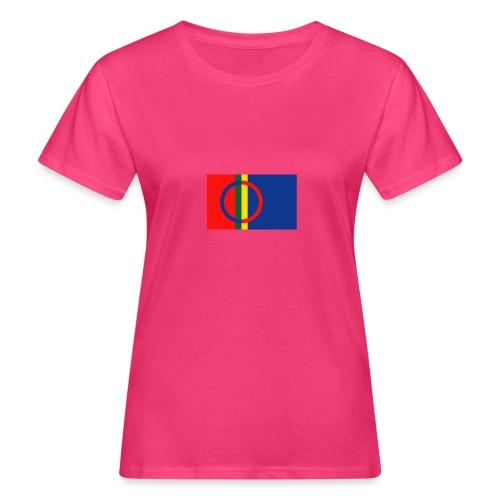 Samiska flaggan - Ekologisk T-shirt dam