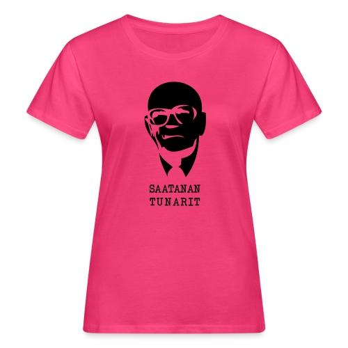 Kekkonen saatanan tunarit - Naisten luonnonmukainen t-paita