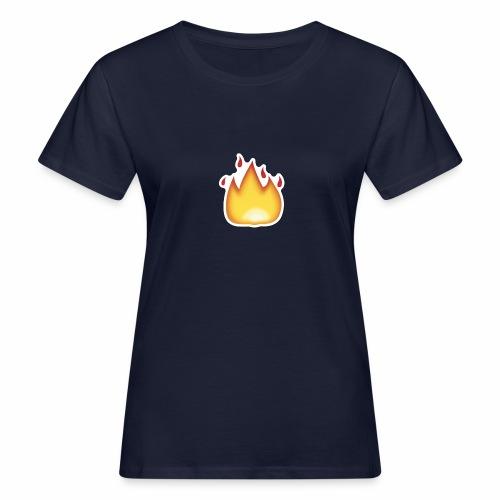Liekkikuviollinen vaate - Naisten luonnonmukainen t-paita