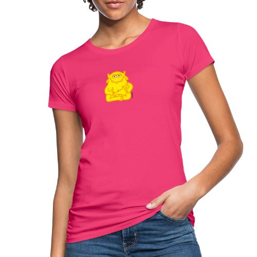 Happy Buddha - Frauen Bio-T-Shirt