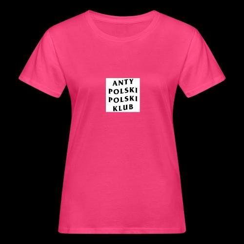 APPK SQUARE - Ekologiczna koszulka damska