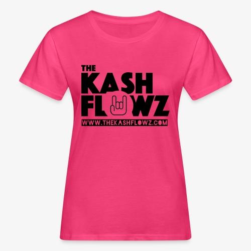 The Kash Flowz Official Web Site Black - T-shirt bio Femme