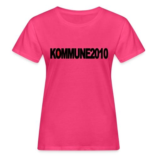 Kommune2010 Supporters Club Merch - Frauen Bio-T-Shirt