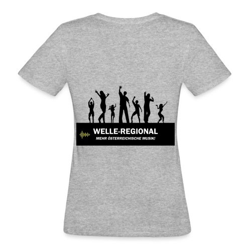 Welle-Regional PartyTime - Frauen Bio-T-Shirt
