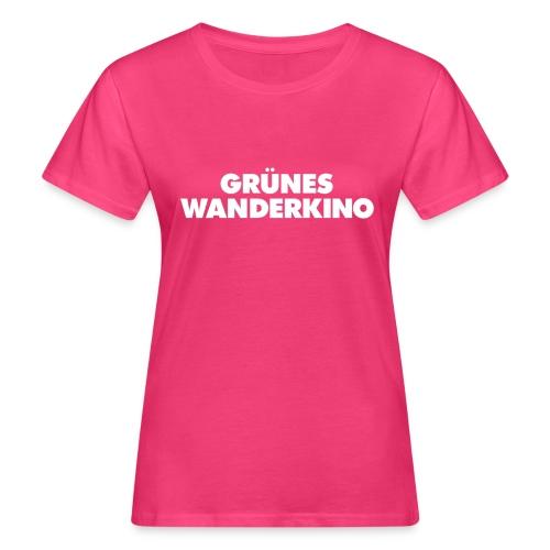 GRÜNES WANDERKINO - Frauen Bio-T-Shirt