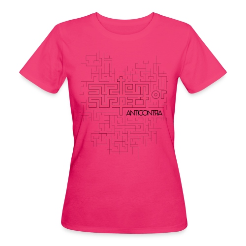 system or suspect pattern for prints 01 - Frauen Bio-T-Shirt