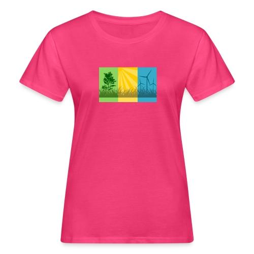 renewables2 - Frauen Bio-T-Shirt