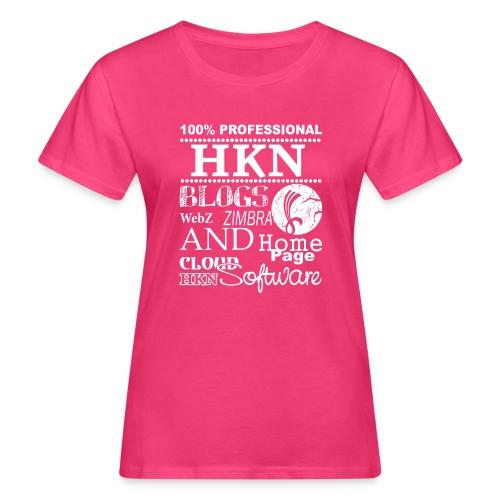 hkn 4 weiss - Frauen Bio-T-Shirt