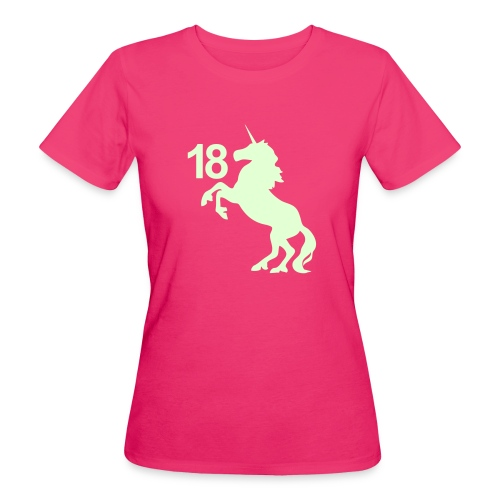 unicorn_18 - Frauen Bio-T-Shirt
