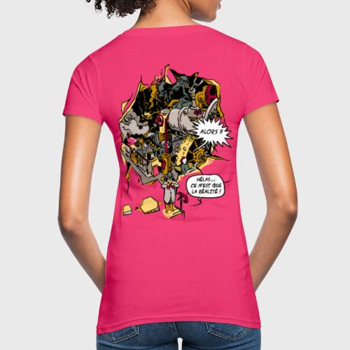 C'est la Réalité - T-shirt bio Femme