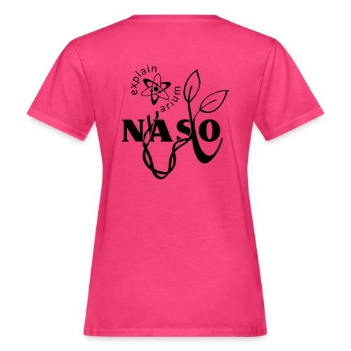 Naso-NASA2 - schwarz - Frauen Bio-T-Shirt