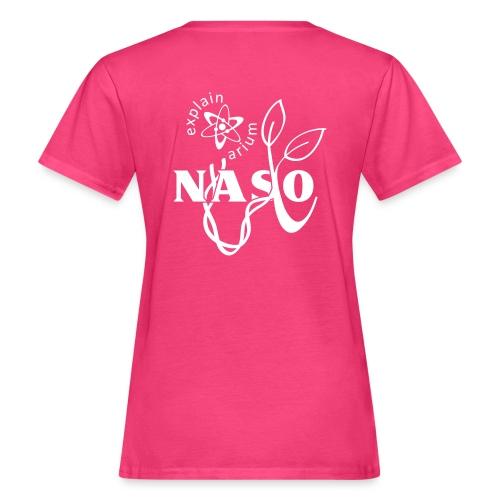 Naso-NASA2 - weiß - Frauen Bio-T-Shirt