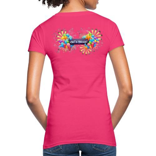 Spirit is Present - T-shirt ecologica da donna