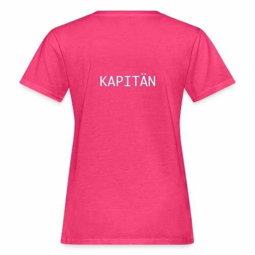 Kapitän Shirt - Frauen Bio-T-Shirt