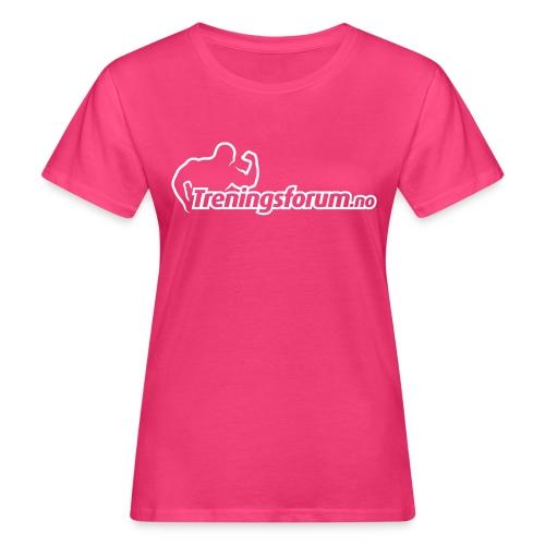 spreadshirt logo hvit png - Økologisk T-skjorte for kvinner