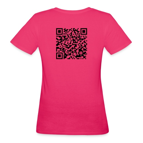 static qr code without logo2 png - T-shirt ecologica da donna