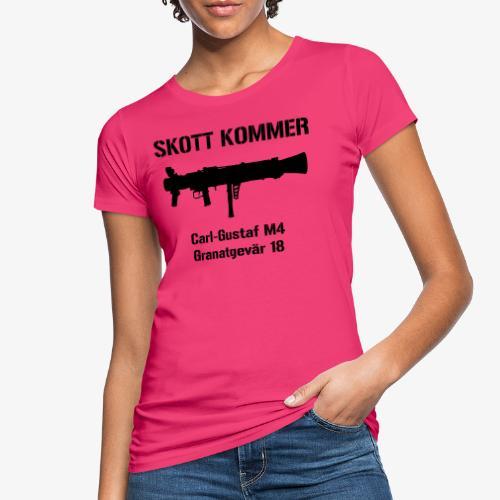 SKOTT KOMMER - KLART BAKÅT - SWE Flag - Ekologisk T-shirt dam