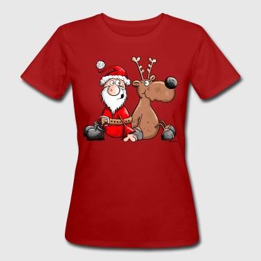 Mikołaj Drużyna marzeń - Ekologiczna koszulka damska
