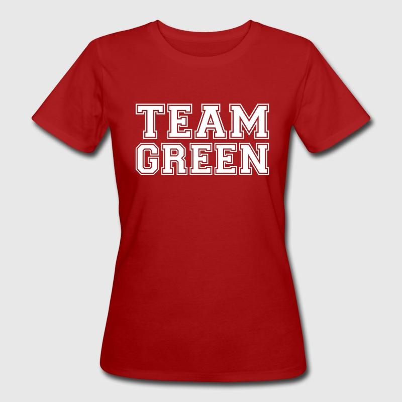 TEAM GREEN - El equipo verde - Camiseta ecológica mujer