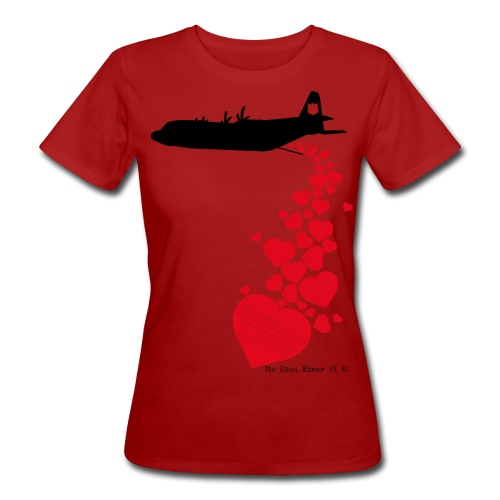lovebomb - Frauen Bio-T-Shirt