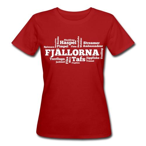 Fjällorna_fiskesätt_201 - Ekologisk T-shirt dam