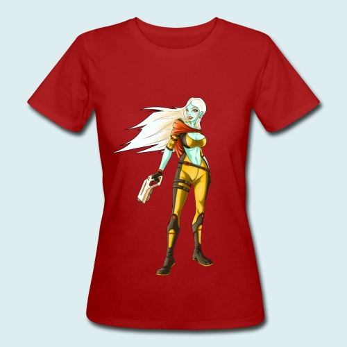 sci fi hunter - T-shirt ecologica da donna