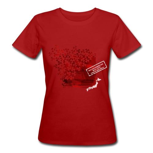 Fukushima - Frauen Bio-T-Shirt