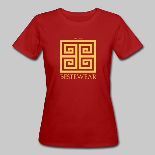 #Bestewear - Golden Snake - Frauen Bio-T-Shirt