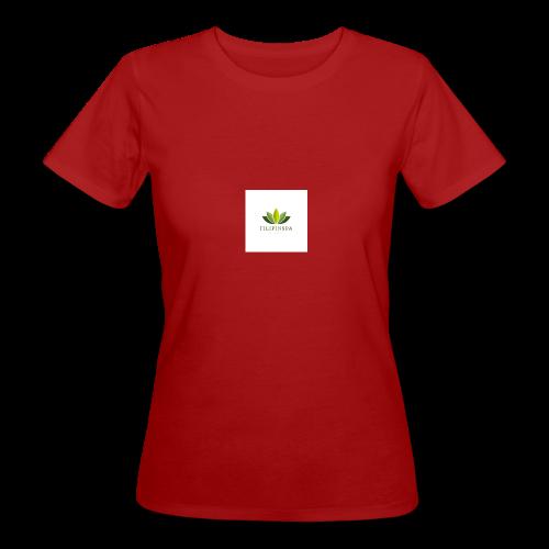 logo - Ekologisk T-shirt dam