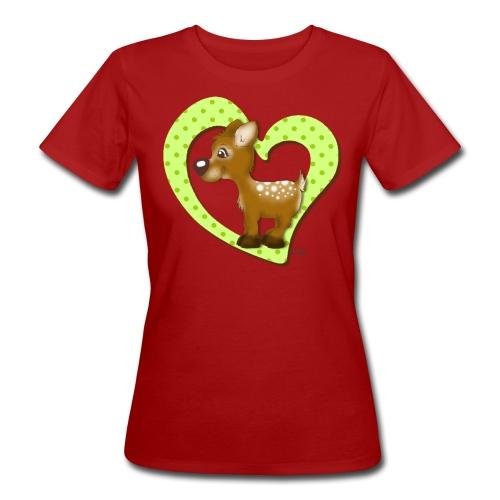 Kira Kitzi Limone - Frauen Bio-T-Shirt