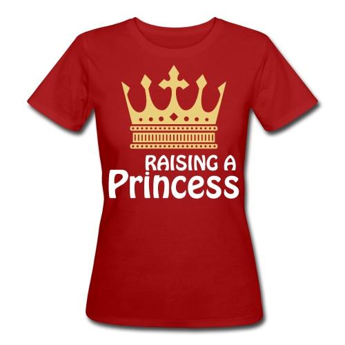 Raisin a Princess Mutter Tochter Partnerlook - Frauen Bio-T-Shirt