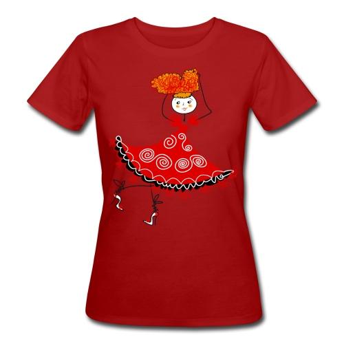 Ballerina - T-shirt ecologica da donna