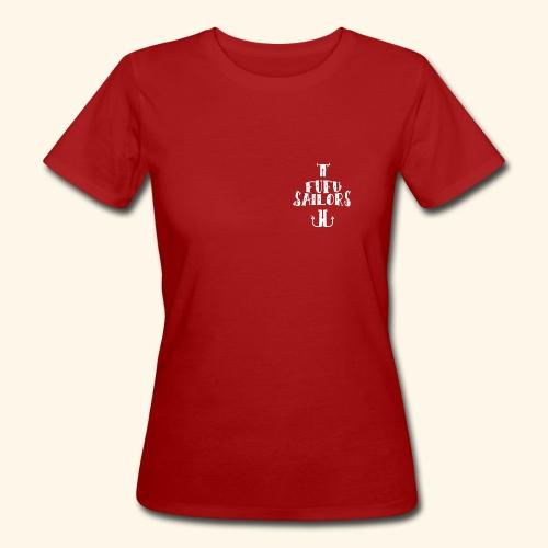 fufu anchor white - Women's Organic T-Shirt