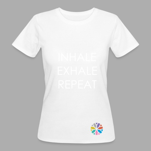 breathing - Frauen Bio-T-Shirt