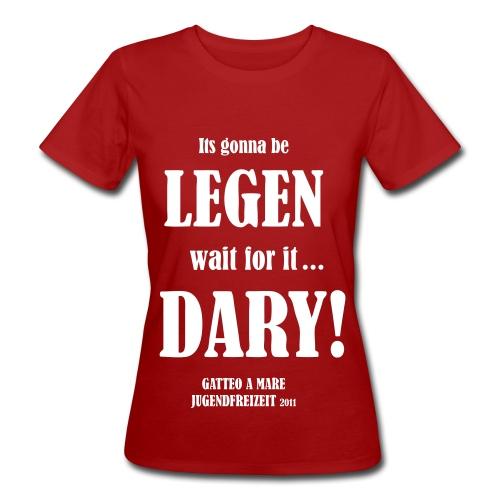 legendary bernardtristan - Frauen Bio-T-Shirt