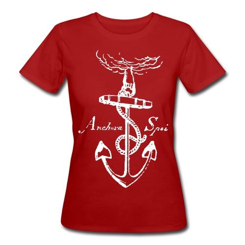 Vintage anchor - Women's Organic T-Shirt