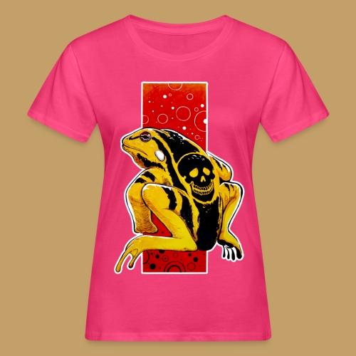 Death Frog - Ekologiczna koszulka damska