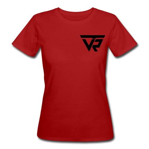 TVR Logo schwarz - Frauen Bio-T-Shirt