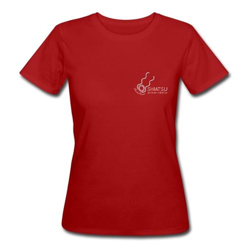 szk Shiatsu weiss - Frauen Bio-T-Shirt