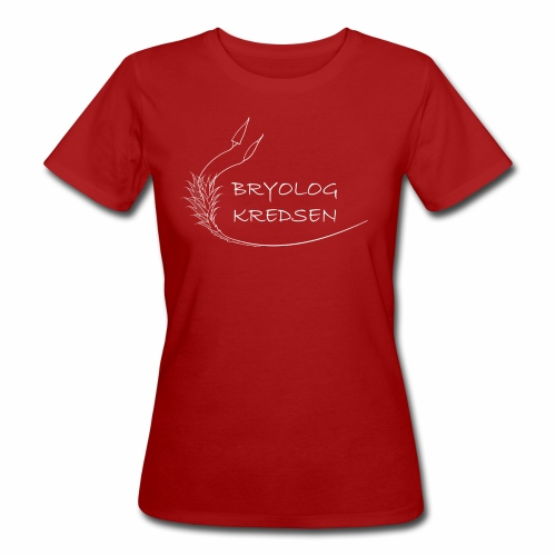 Bryologkredsen - hvidt logo - Organic damer