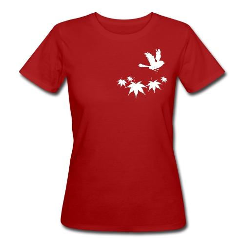 Arianna bianco - T-shirt ecologica da donna