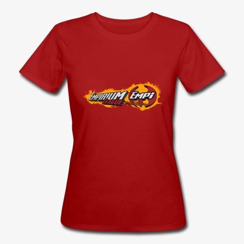 Logo EMPi fond jaune - T-shirt bio Femme