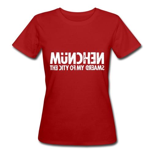München (white oldstyle) - Frauen Bio-T-Shirt