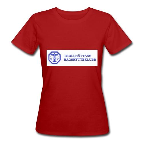 Piké Herr Slim - Tävlingströja med ryggtryck - Ekologisk T-shirt dam