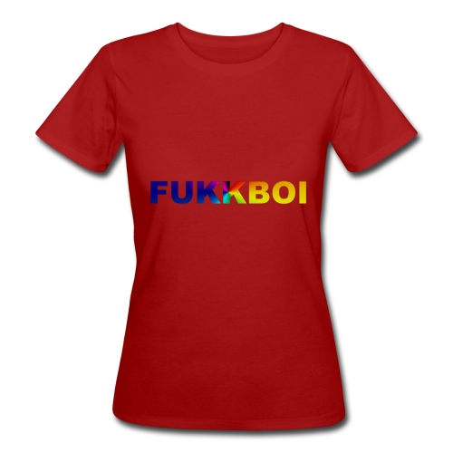 FUKKBOI - Økologisk T-skjorte for kvinner