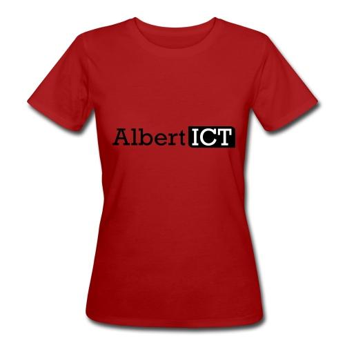 Logo_AlbertICT - Vrouwen Bio-T-shirt