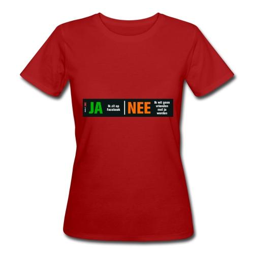 facebookvrienden - Vrouwen Bio-T-shirt