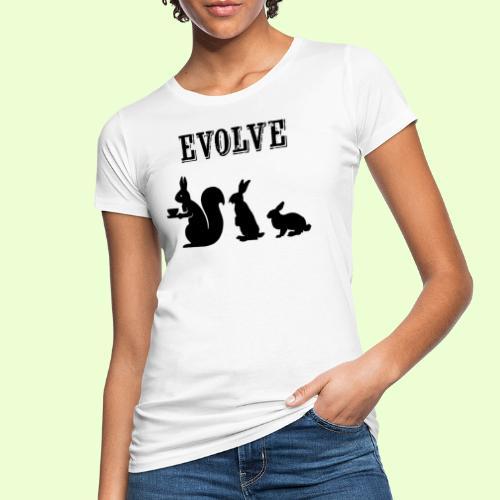 EvolveBunny - Vrouwen Bio-T-shirt